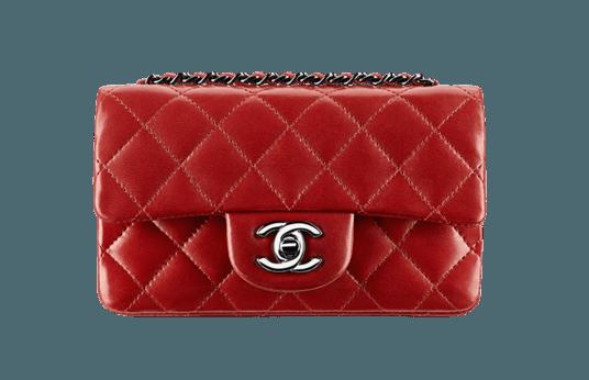 Borsa rossa Chanel