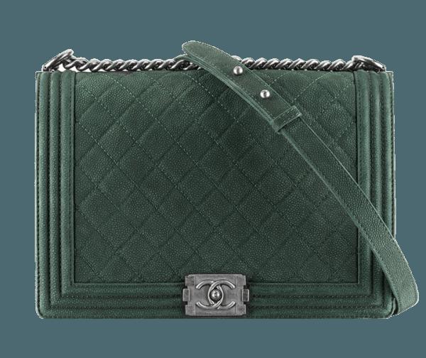 Borsa verde Chanel