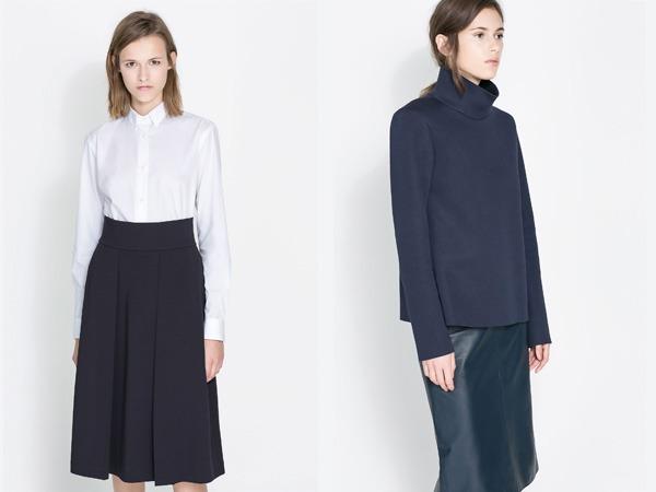 Camicie Zara autunno inverno 2013 2014