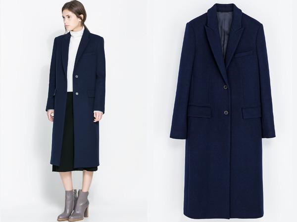 Cappotti Zara autunno inverno 2013 2014