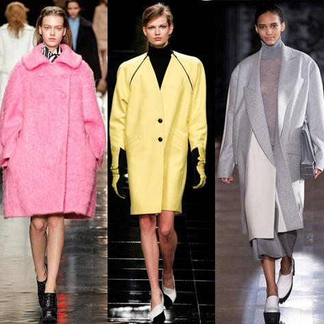 Cappotti oversize moda 2014