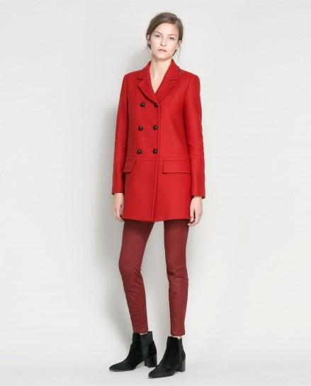 Cappotto rosso Zara
