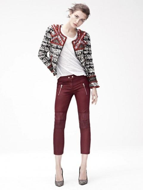 Cardigan in boucle Isabel Marant per H & M