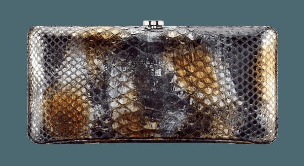 Clutch pitonata borse Chanel autunno inverno 2013 2014