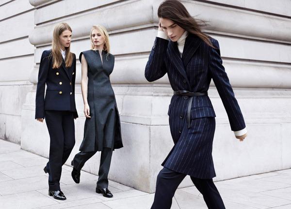 Completi gessati Zara autunno inverno 2013 2014