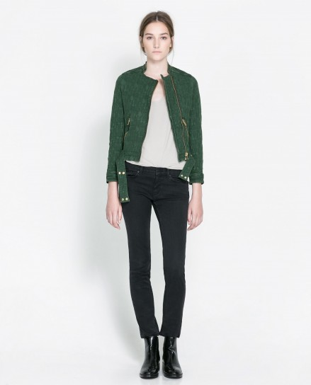 Giacca verde Zara