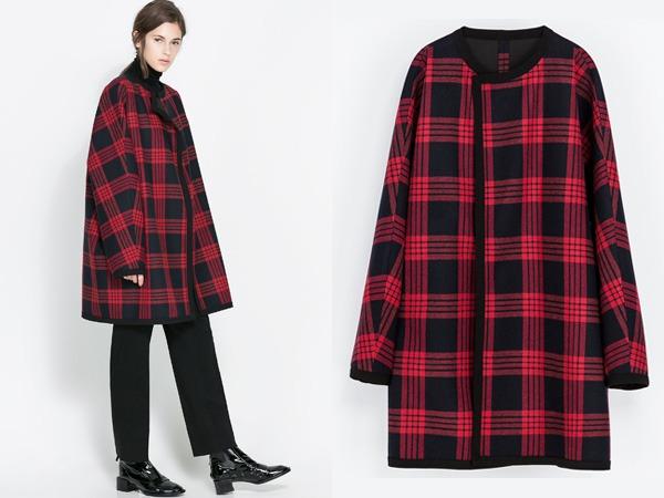 Giaccone Zara autunno inverno 2013 2014