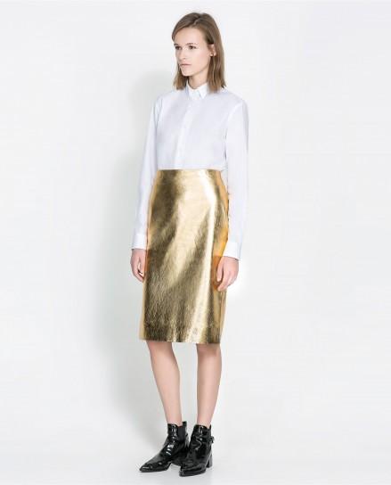 Gonna gold Zara