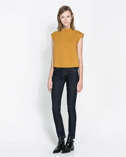 Jeans in denim Zara