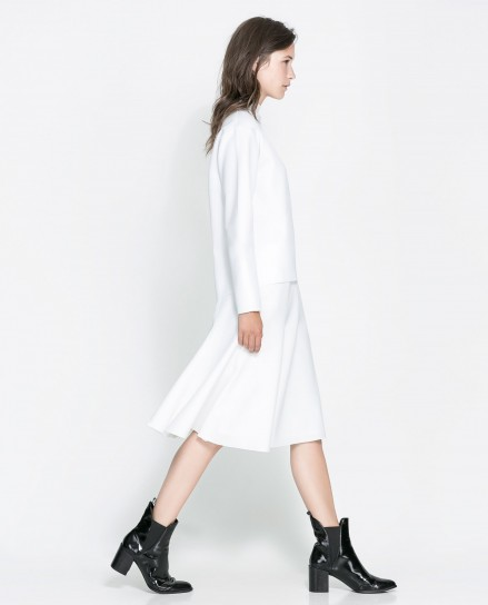 Look total white Zara
