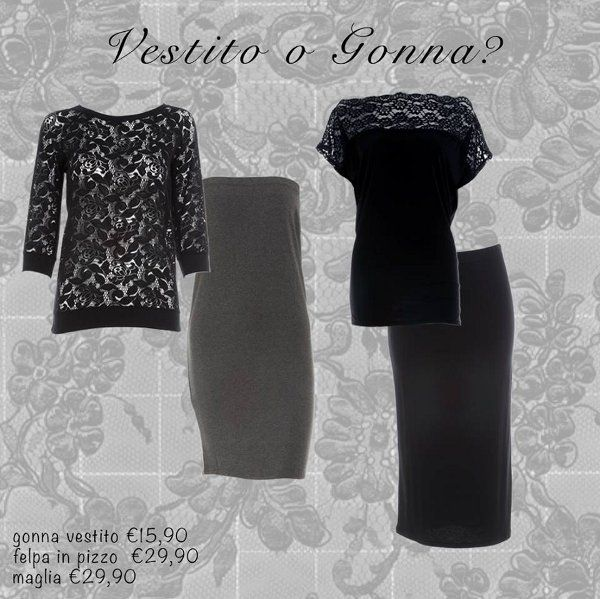 Maglie e gonne Yamamay autunno inverno 2013 2014