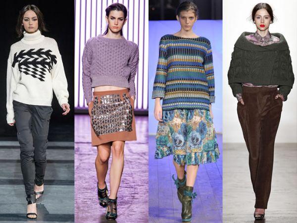 Maglioni tendenze moda inverno 2013 2014