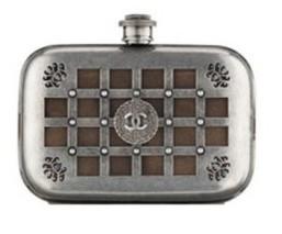 Minaudiere in metallo Chanel