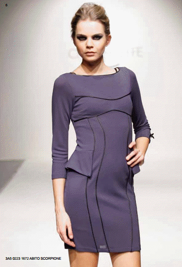 Mini dress CristinaEffe autunno inverno 2013 2014