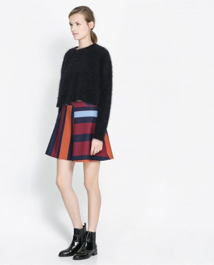 Minigonna multicolor Zara