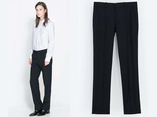 Pantaloni Zara autunno inverno 2013 2014