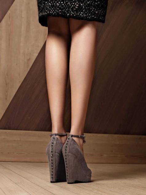 Scarpe con zeppa Liu Jo autunno inverno 2013 2014
