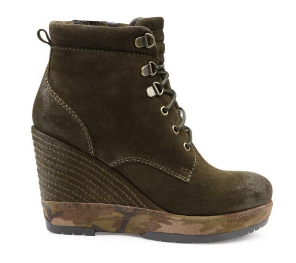 Sneakers con zeppa Geox autunno inverno 2013 2014