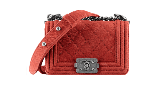 Tracolla rossa Chanel autunno inverno 2013 2014