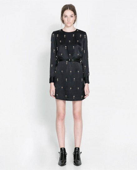 Zara abito nero elegante