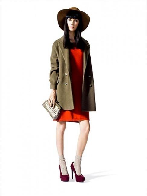 Cappotti Sisley autunno inverno 2014