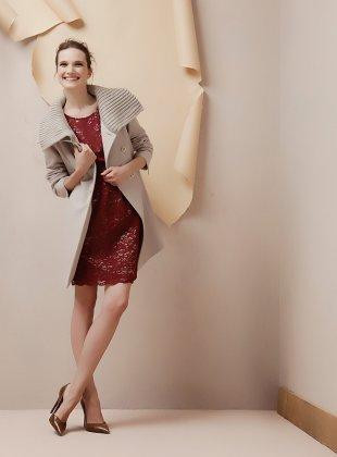 Cappotto maglia Oltre autunno inverno 2014