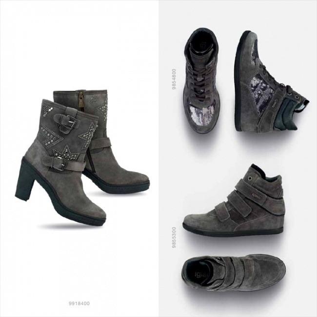 Catalogo scarpe Igi&Co autunno inverno 2014