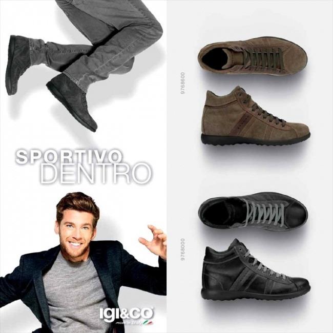 Collezione scarpe Igi&Co autunno inverno 2014
