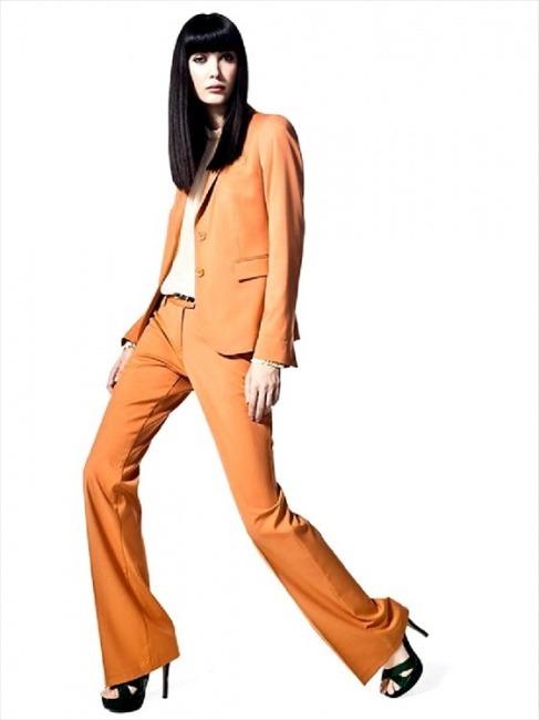 Completo giacca pantalone Sisley autunno inverno 2014