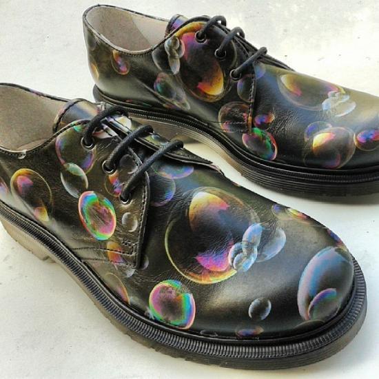 M2.0 Fucking shoe scarpe con bolle di sapone