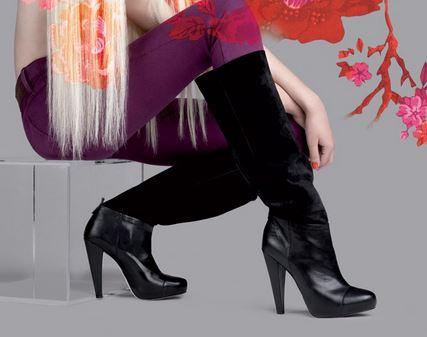 Moda scarpe Fornarina autunno inverno 2014