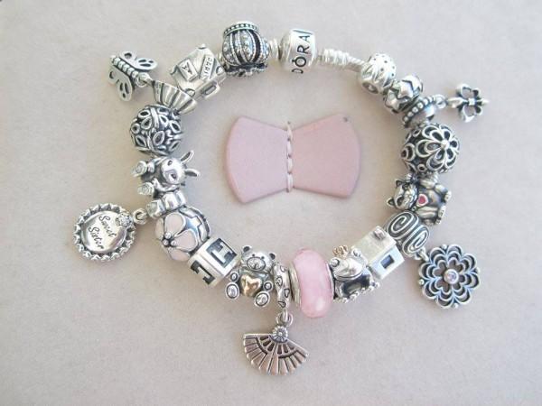 Pandora bracciali con charm