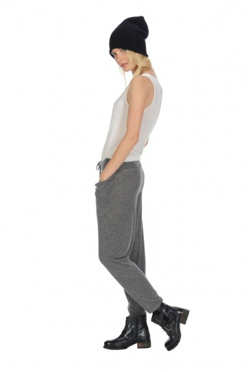 Pantaloni Stefanel autunno inverno 2014 in cashmere grigi