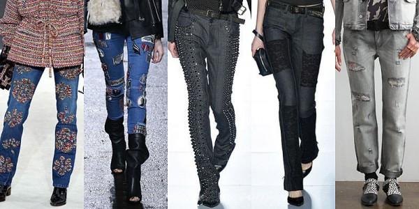 Pantaloni jeans inverno 2013 2014