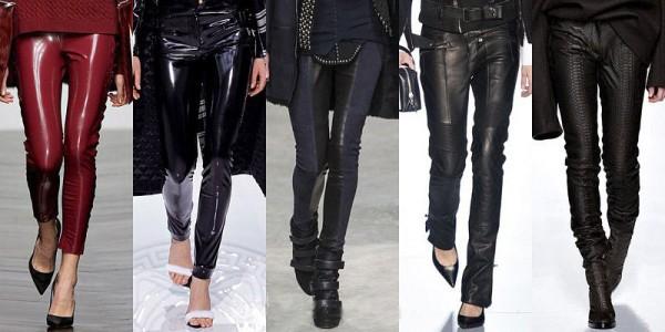 Pantaloni pelle inverno 2013 2014