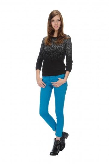 Pantaloni stretch Stefanel autunno inverno 2014
