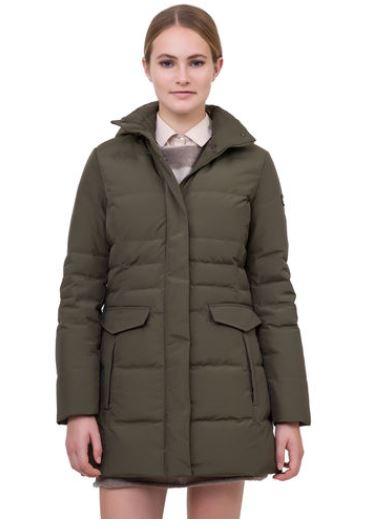 Piumino lungo Woolrich donna inverno 2014