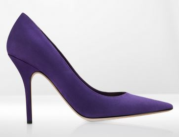 Pumps in suede Dior autunno inverno 2014