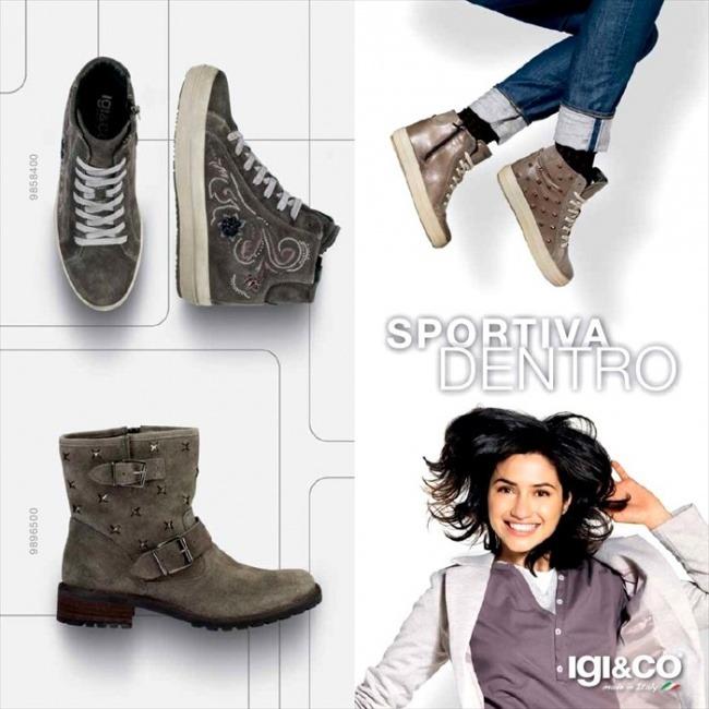 Scarpe Igi&Co autunno inverno 2014