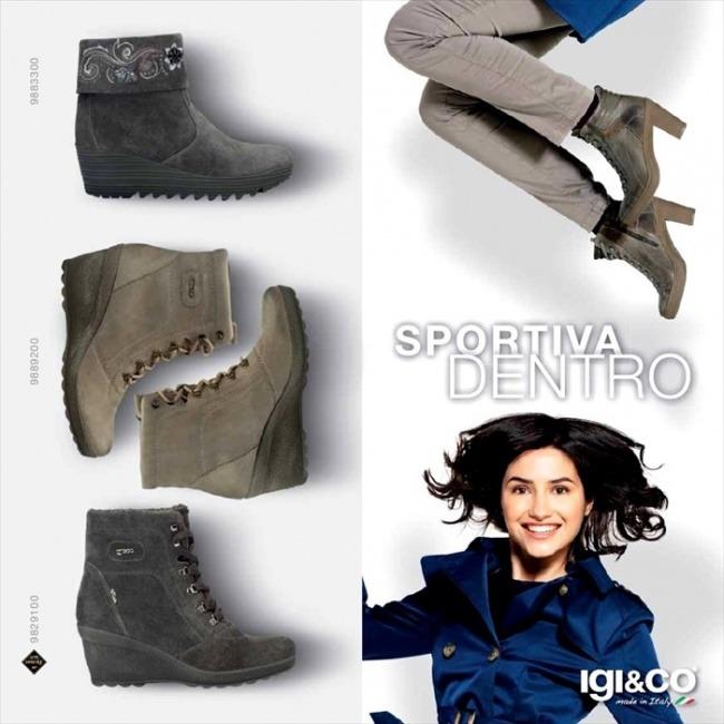 Scarpe donna Igi&Co autunno inverno 2014