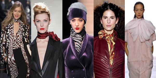 Sciarpe donna moda e tendenze inverno 2014