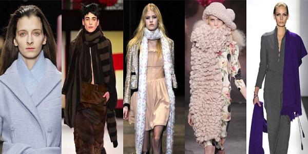 Sciarpe di lana tendenze inverno 2014