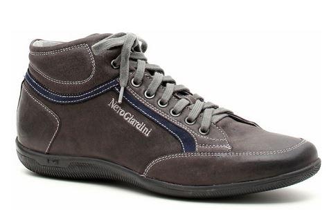 Sneaker alta maschile Nero Giardini autunno inverno