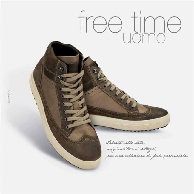 Sneakers alti Igi&Co autunno inverno 2014