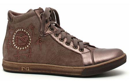 Sneakers con brillantini Nero Giardini
