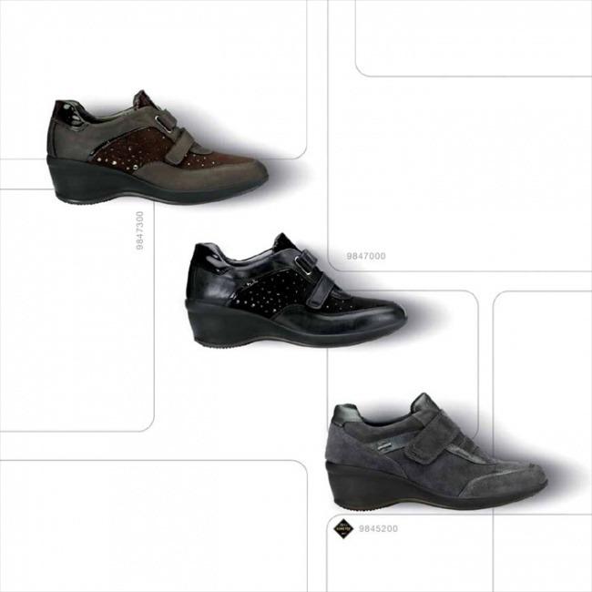 Sneakers con zeppa Igi&Co autunno inverno 2014