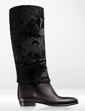Stivali Dior autunno inverno 2014