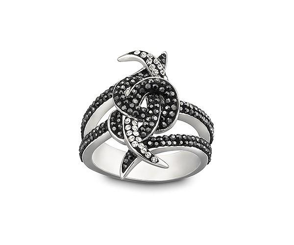 Swarovski anello nero