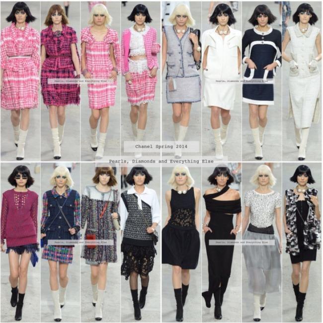Collezione Chanel Primavera Estate 2014