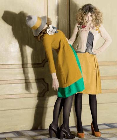 Abbigliamento Rosé a Pois autunno inverno 2014